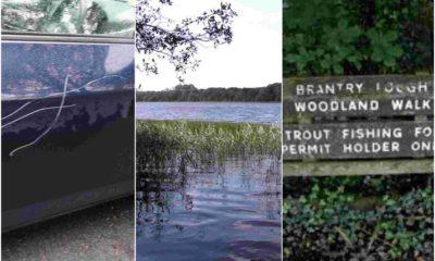 Brantry Lough vandals