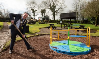 Chair at playpark revamp works-min